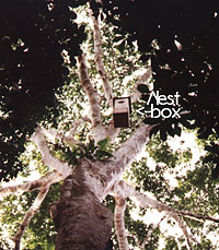 Artifical nest box in the jungle